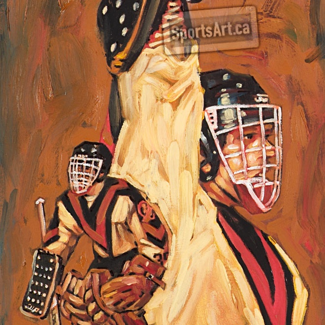 """""""King Richard"""" - The Vancouver Canucks were the improbable Stanley Cup finalists of 1982. The team had a cast of unlikely characters, a suspended coach and his towel waving replacement. King Richard Brodeur was unbeatable in goal."""