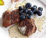 Escalopes de chevreuil à la schaffhousoise
