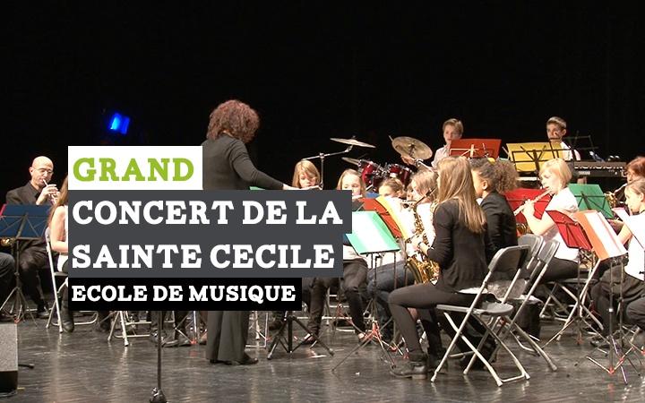 Grand concert de la Sainte Cécile donné par les orchestres d'harmonie de l'Ecole de Musique Maurice Duruflé à #Louviers.
