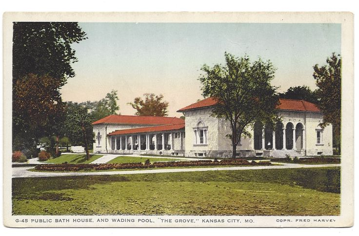 public bath house and wading pool - the grove | SqueezeBoxCity