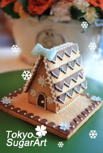 Japanese gingerbread house 2013