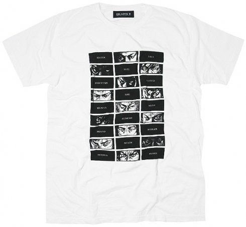 BEAMS T x Takehiko Inoue   Musashis Eyes T Shirt