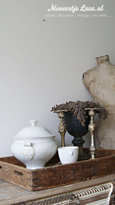 Groot houten dienblad | New founds | meneertjeluca