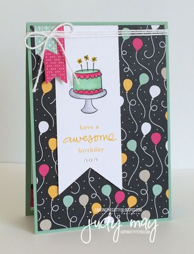 Stampin' Up! It's My Party Suite and Endless Birthday Wishes - Judy May, Just Judy Designs