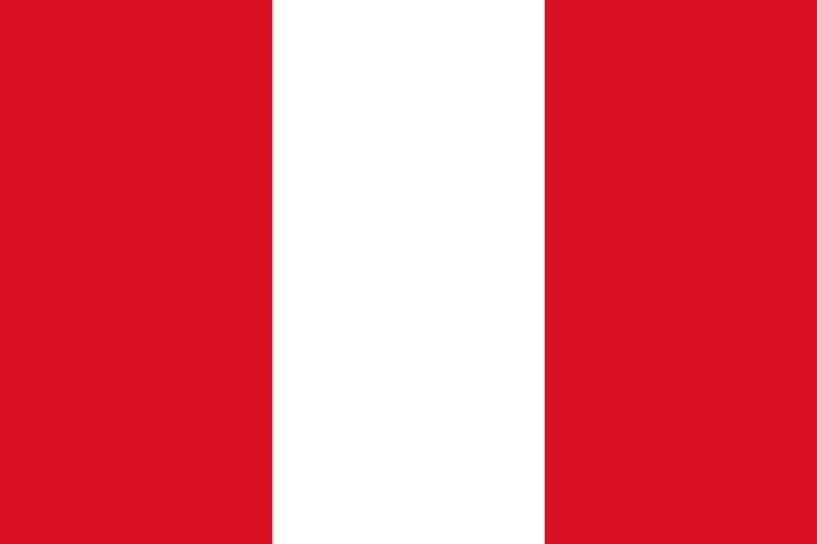 Flag of Peru - Bandeiras da América do Sul – Wikipédia, a enciclopédia livre