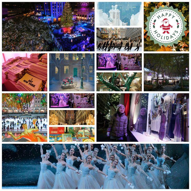 Découvrez les jolies décorations de Noël à New York, avec les spectacles, les marchés, les beaux sapins, les patinoires d'hiver et encore pleins d'autres bonnes adresses à découvrir pour passer Noël à New York.