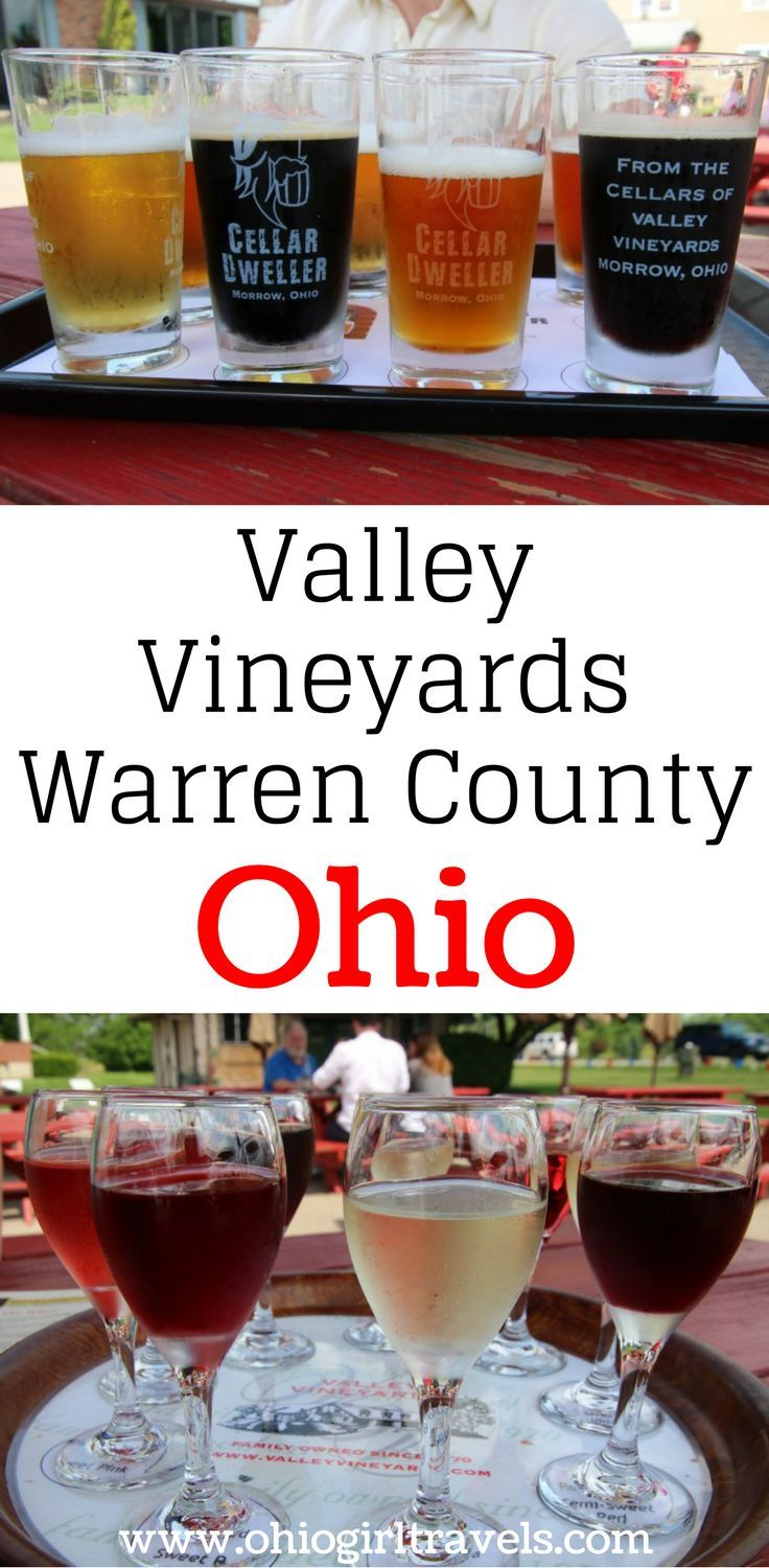 Valley Vineyards is a beautiful winery located in Warren County, Ohio. It is the second largest wine vineyard in Ohio, but don't let that fool you! When you go to Valley Vineyards, you'll feel like family. This Ohio vineyard has both wine and craft beers