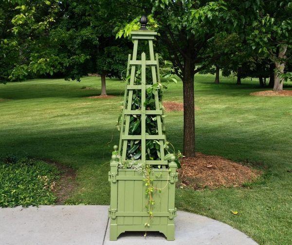 45 best Elements - Obelisks images on Pinterest Garden ideas - m bel pallen k chen