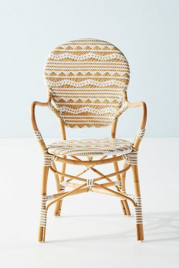 Amalfi Striped Indoor/Outdoor Bistro Chair