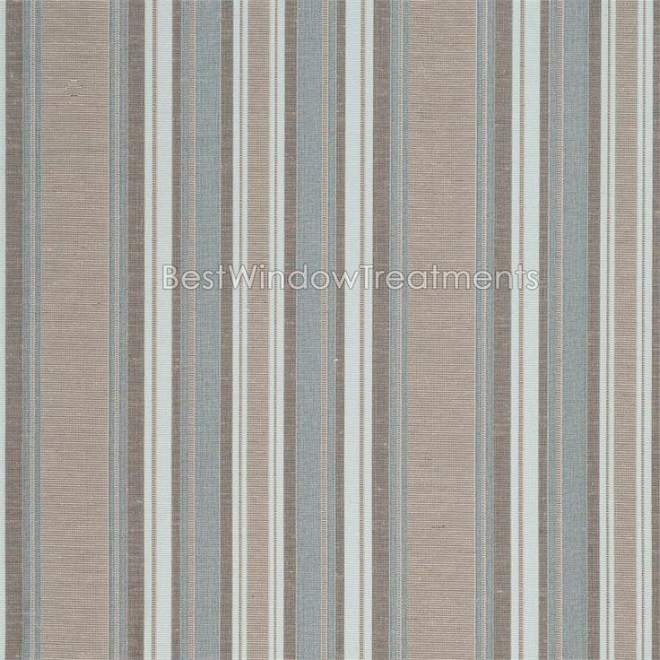 Blue And Brown Striped Bedroom 25 best beachy stripes-fabric & decor images on pinterest | custom