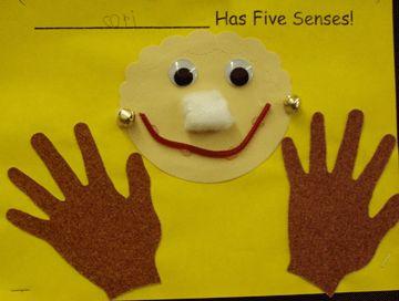 Five senses theme unit! Cute ideas!