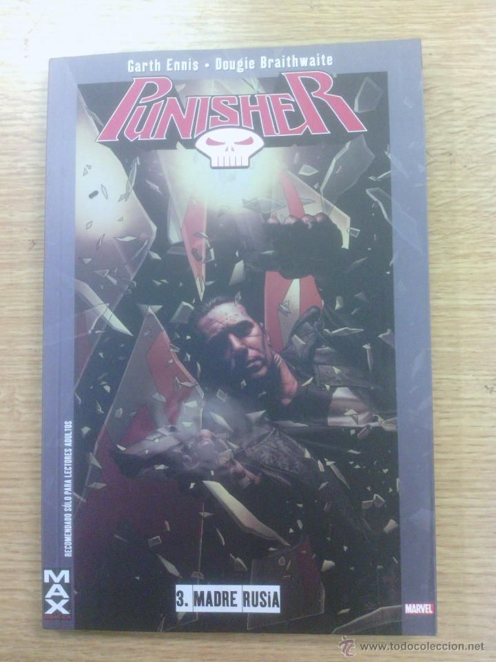 PUNISHER #3 MADRE RUSIA (100 % MARVEL MAX)
