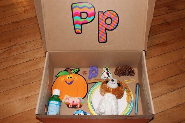 Pumpkin: Letter 'P' Alphabet Box & Sensory Bin | Teaching MamaTeaching Mama