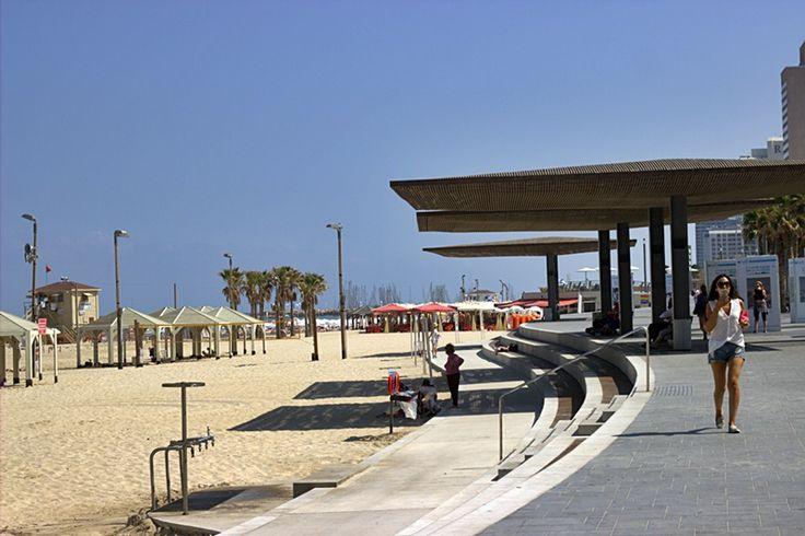 Tel Aviv beach promenade June 17 #beach #telaviv