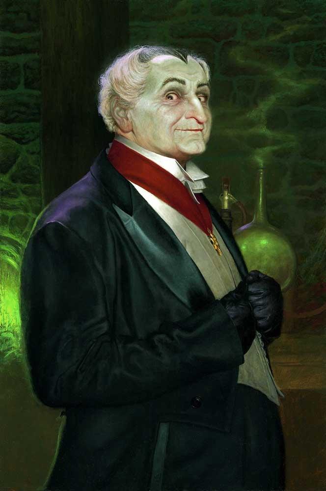 The Munsters - Grandpa Portrait                                                                                                                                                                                 More
