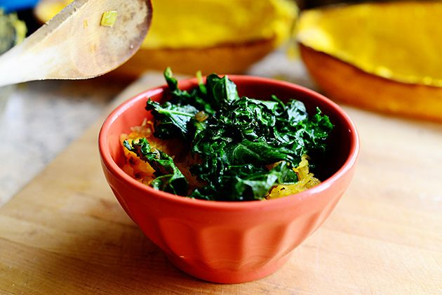 Spaghetti Squash with Kale by Ree Drummond / The Pioneer Woman, via Flickr