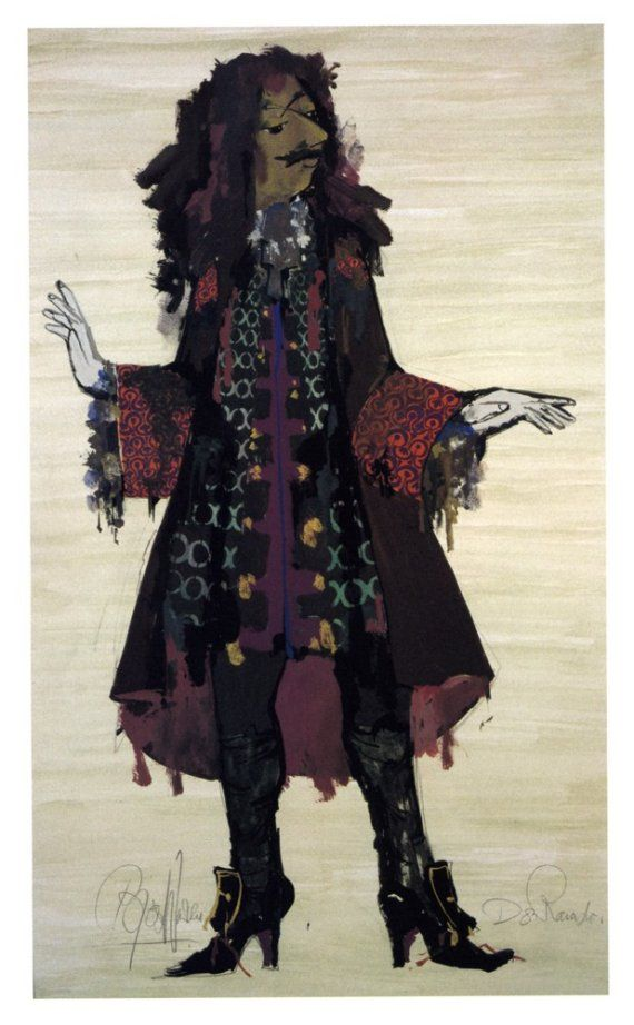 Bjorn Wiinblad Danish Scandinavian Art - Don Ranudo