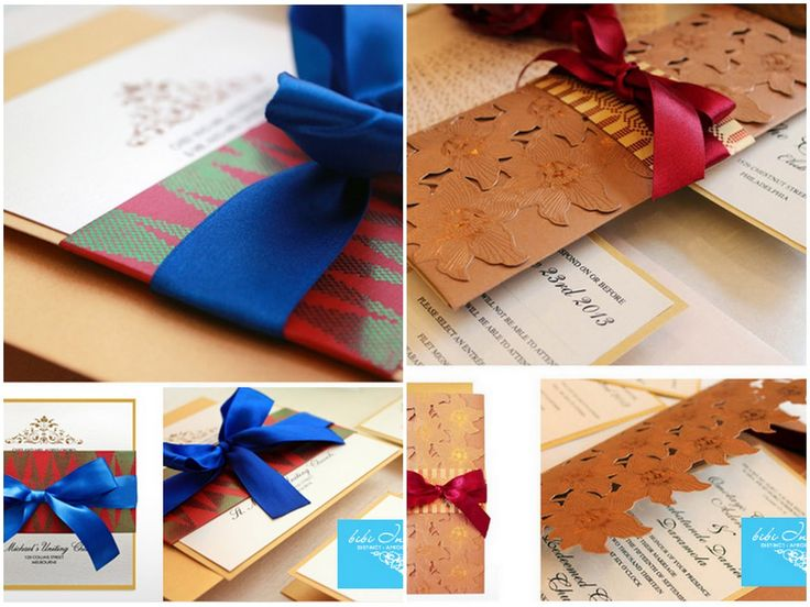 African themed Wedding Invitations: Bibi Invitations + Discount + Giveaway Contest - KnotsVilla