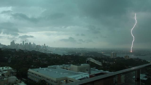 Thunderstorm slams NSW