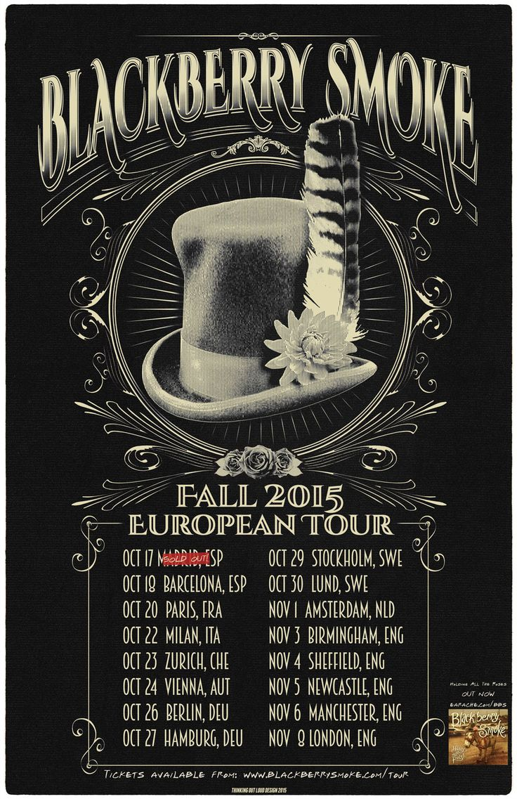 Blackberry Smoke tour Europe and release acoustic EP - Wood, Wire & Roses