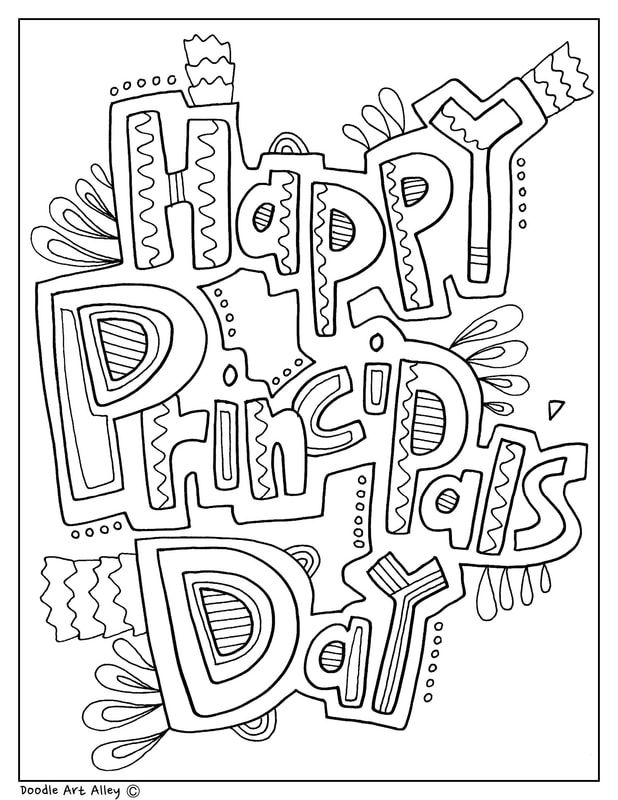 Celebrate School Principal Day And Month With Fun Printables And