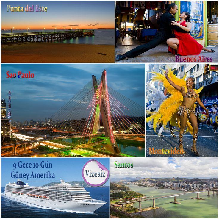 Güney Amerika'yı Denizlerden Keşfetmek İster misiniz ? Brezilya, Uruguay, Arjantin   Erken Rezervasyon Fırsatını Kaçırmayın...   http://www.gemiturlari.com.tr/msc-poesia-ile-guney-amerika-9-gece-10-gun-vizesiz-2015/