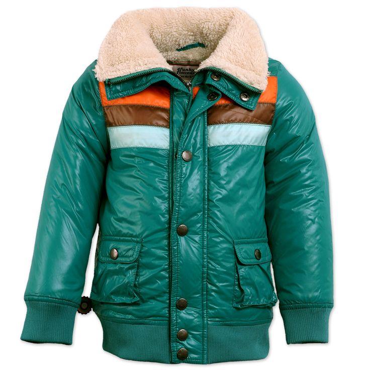 Prachtig jas van 4funkyflavours. Lekker warm met wollen kraag.