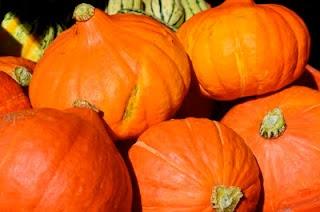 Pumpkins, Kelowna Farmers Market, BC.