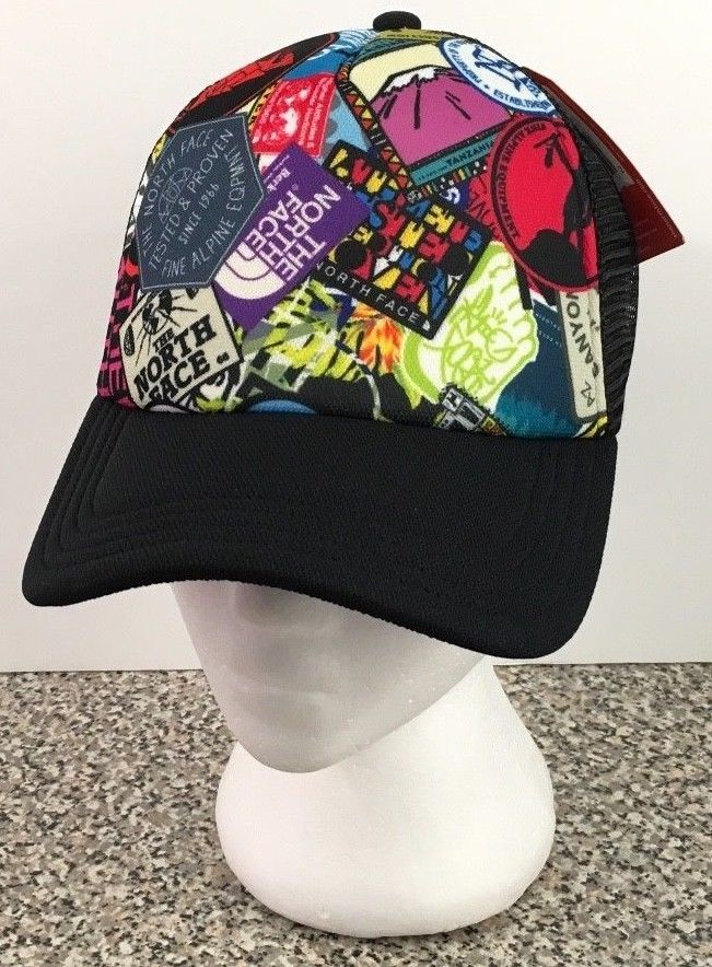 The North Face Photobomb Trucker Hat Mesh Cap Snapback Unisex One Size New  NWT  ffd37bd38fac