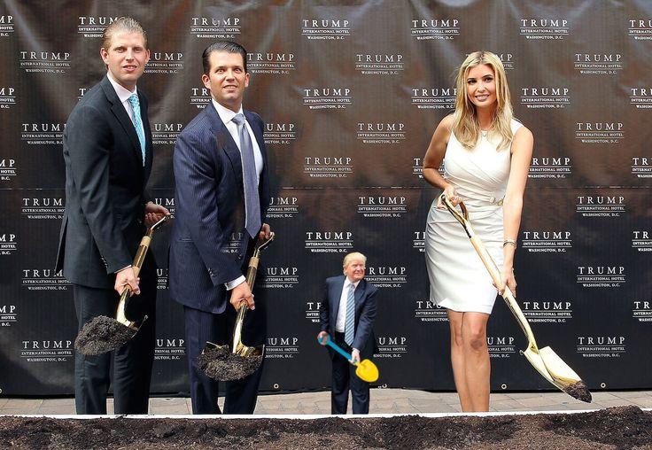 tiny trump towers groundbreaking ceremony