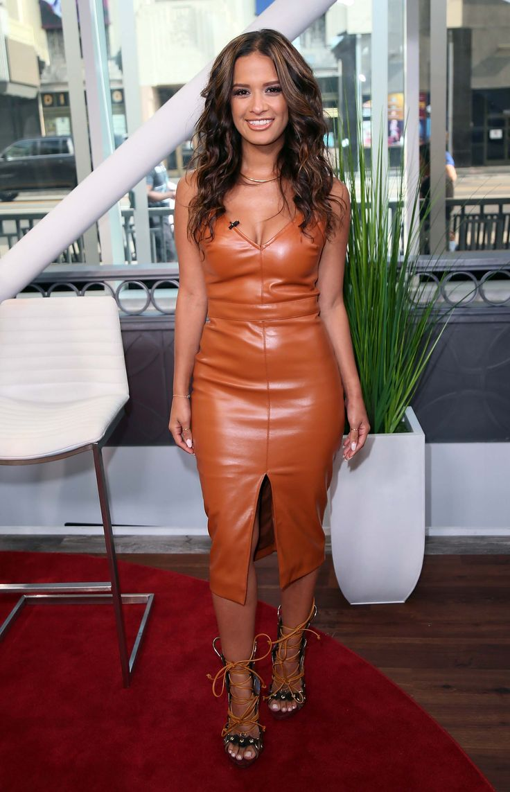 Rocsi Diaz poses at Hollywood Today Live