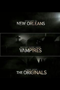 Before there were vampires, there were The Originals.
