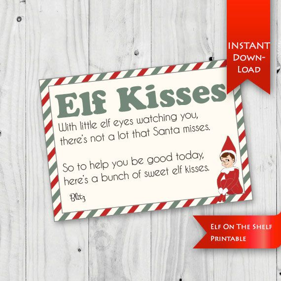 17 best ideas about elf names on pinterest christmas elf for Elf on the shelf chocolate kiss