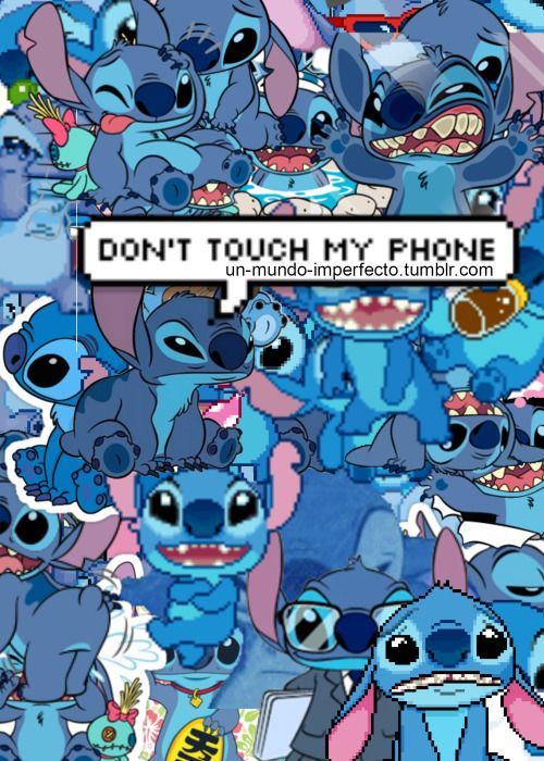 Iphone Wallpaper Dont Touch My Phone Stitch Wallpaper Hd For Android