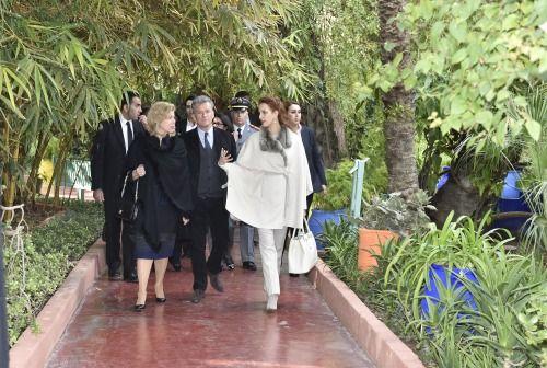 1000 images about royal style lalla salma on pinterest for Jardines de soraya
