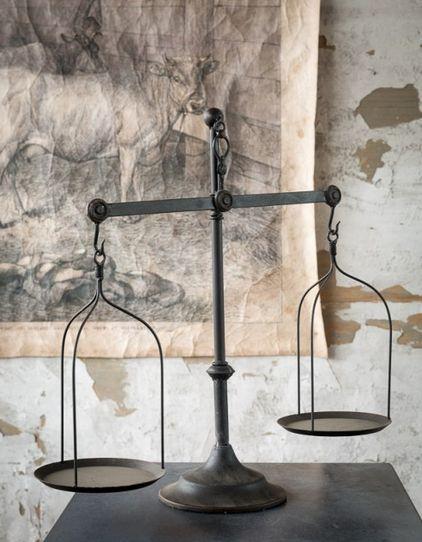 Decorative Antique Style Scale - Kitchen Scale - Fixer Upper