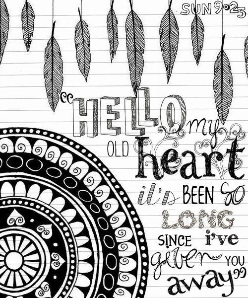 hello my old heart | Tumblr