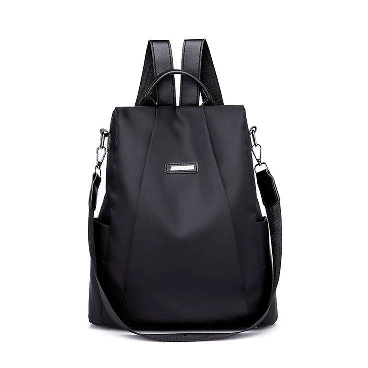 <b>2019</b> Fashion Women <b>Solid</b> ZipperTravel <b>backpack</b> Female Oxford ...