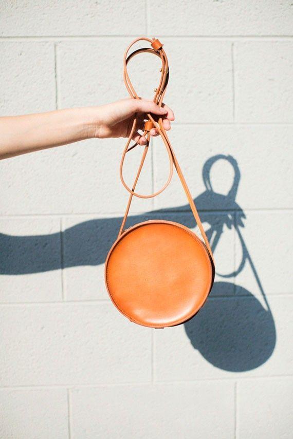 Sara Barner - Tan Circle Bag