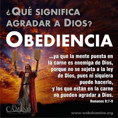 ¿Por qué insistir en la obediencia a las instrucciones de Dios? Muy sencillo porque quien se declara seguidor de Yeshúa/Jesús el Mesías...