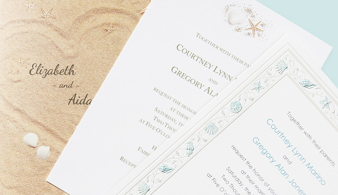 Printable Beach Wedding Invitations: 103 Best Images About Wedding Favors And Invitations On