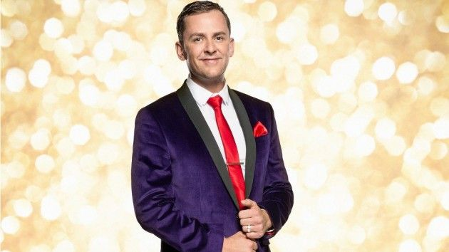 Strictly in training: Scott Mills & Joanne Clifton first steps