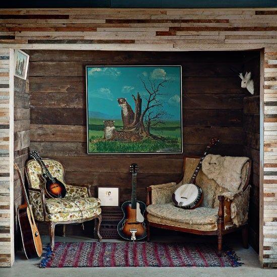 warehouse renovation - rustic bohemian