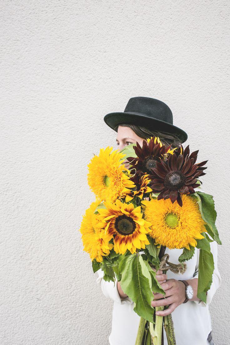 Bos bonte zonnebloemen #mwbd #zonnebloem