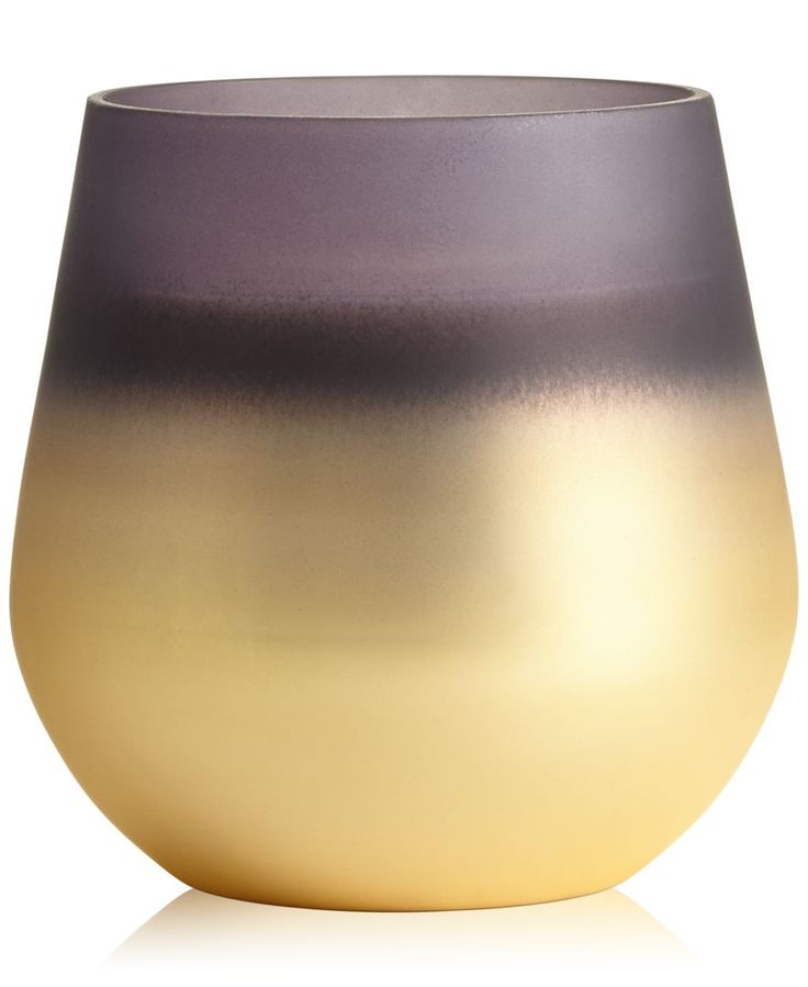 Illume Cavern Glass Metallic Candle