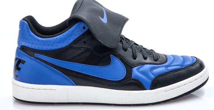 NIKE - Ανδρικό παπούτσια football Nike NSW Tiempo MID μαύρα #style #fashion #moda
