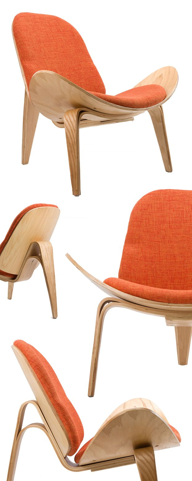 People sitting in waffle chair - Inspired By A Popular Danish Modern Design Introduced In 1963 This Orange Chair Offers Both