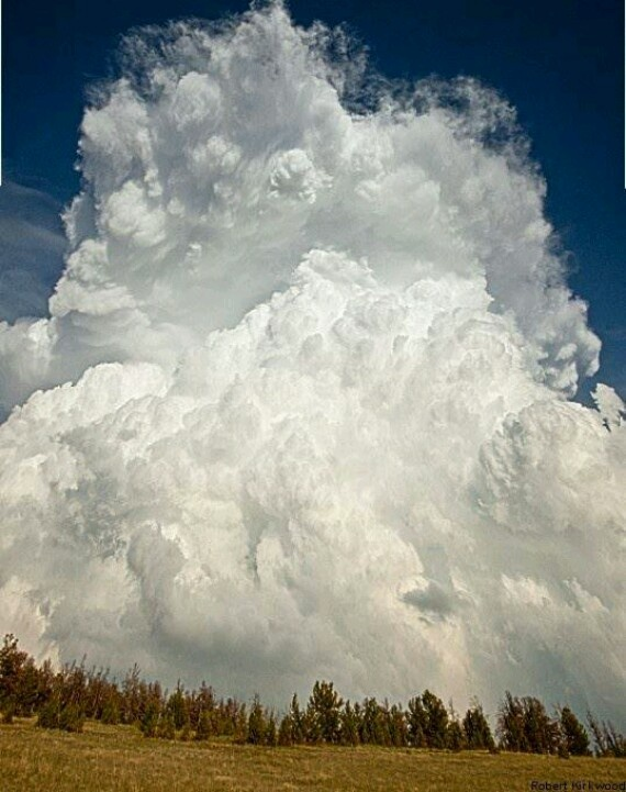 Thunderhead clouds  Almost too beautiful to believe!