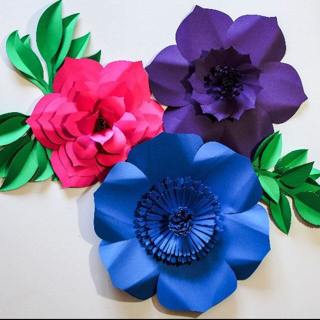 The 27 best shop our pins images on pinterest giant paper flowers colorful paper flower backdrop with foliage would be perfect for any occasion or home decor mightylinksfo