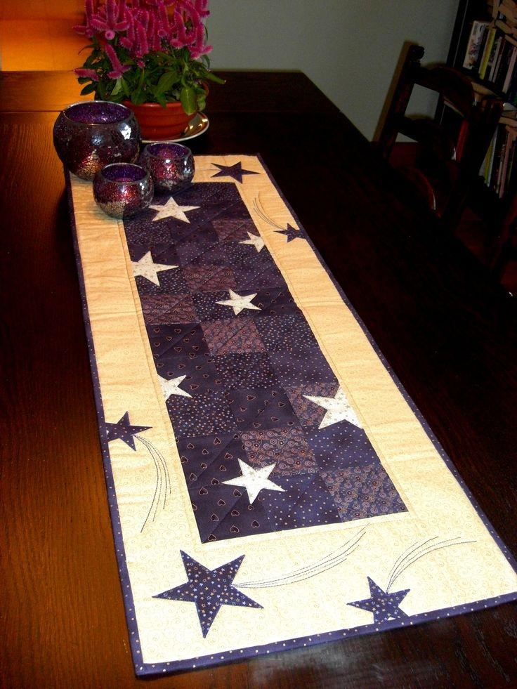 Stars table runner